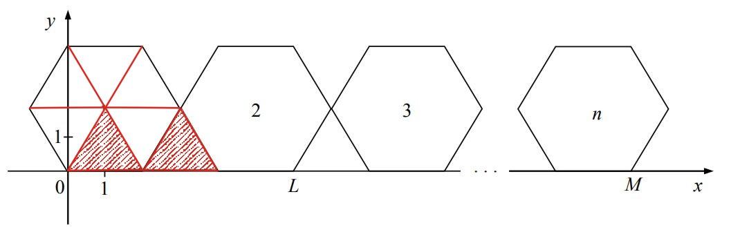 Do sześciokąta przedstawionego na rysunku w zadaniu 12.