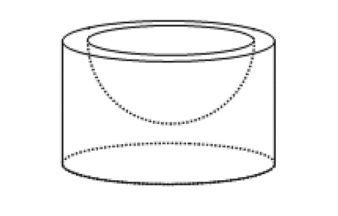 Pojemnik z kremem ma kształt walca o promieniu podstawy 4 cm