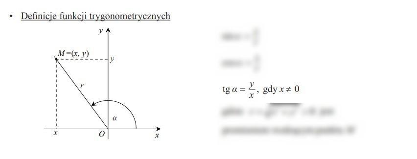 Na rysunku przedstawiona jest prosta k o równaniu y = ax