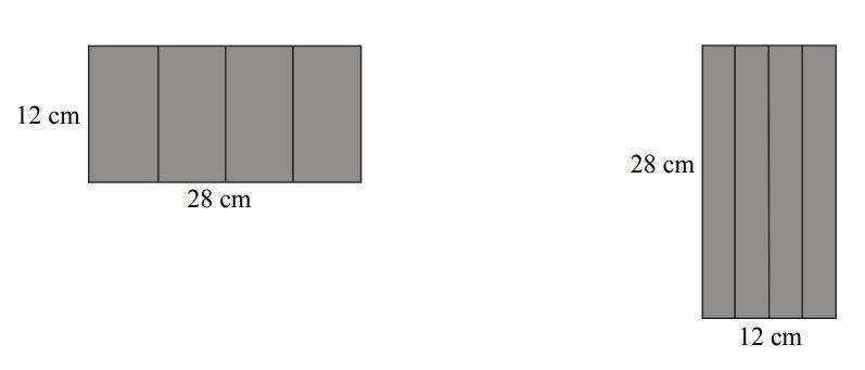 Maja zrobiła dwa pudełka w kształcie graniastosłupów prawidłowych czworokątnych